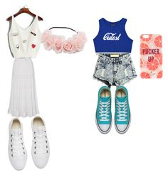 """""""Untitled #24"""" by ilovestarbucks3 on Polyvore featuring Converse and Kate Spade"""