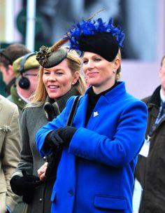 Autumn Phillips and Zara Tindall Mar 17, 2017 | Royal Hats