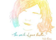 Bestie smile