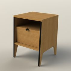 HS400 Bedside table | design by Hunt Furniture