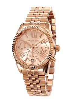 MICHAEL KORS Rose Gold Ladies Lexington Bracelet Watch Michael Kors Sale, Michael Kors Rose Gold, Designer Collection, Handbag Accessories, Gold Watch, Bracelet Watch, Watches, Lady, Bracelets