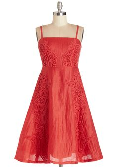 Tracy Reese Splendid and Sweet Dress. #red #modcloth