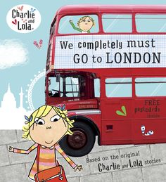 Lauren Child takes us to London with our favorite perky heroine, Lola.