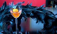 Devil's Own  1 oz Gin 1 oz Dry Vermouth 1 oz Orange Liqueur (Cointreau) Dash Angostura Bitters