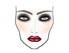 The MAGENTA M∙A∙C L@@K - http://www.maccosmetics.com/images/looks/print/rockyhorrorlooks.pdf