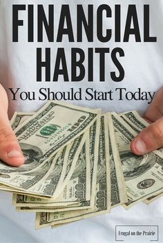 Are you successfully managing your money? Having a budget and paying down debt are just some of the healthy financial habits you should start today.