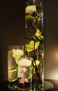 wedding vase centerpieces - Google Search