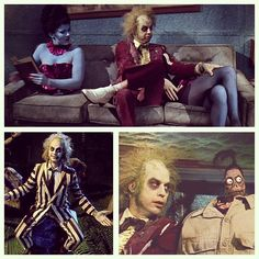 Beetlejuice AH. WELL... I ATTENDED JUILLIARD... I'M A GRADUATE OF THE HARVARD BUSINESS SCHOOL. I TRAVEL QUITE EXTENSIVELY. I LIVED THROUGH THE BLACK PLAGUE AND HAD A PRETTY GOOD TIME DURING THAT. I'VE SEEN THE EXORCIST ABOUT A HUNDRED AND SIXTY-SEVEN TIMES, AND IT KEEPS GETTING FUNNIER EVERY SINGLE TIME I SEE IT... NOT TO MENTION THE FACT THAT YOU'RE TALKING TO A DEAD GUY... NOW WHAT DO YOU THINK? YOU THINK I'M QUALIFIED?