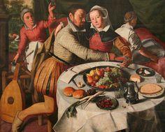 Beuckeleer Huybrecht (16th century) - L'enfant prodigue, Royal Museum of Fine Arts of Belgium