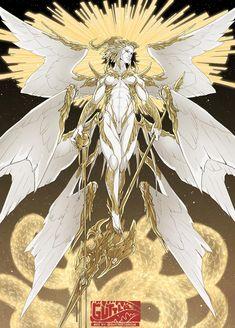 Fantasy Character Design, Character Drawing, Character Design Inspiration, Character Concept, Creature Concept Art, Creature Design, Angel And Devil, Fantasy Monster, Angel Art