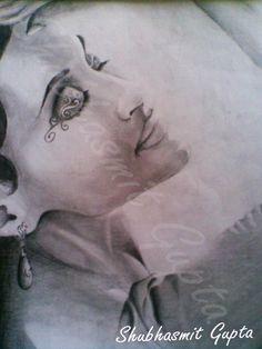 """""""Portrait-3""""  Pencil on Paper"""