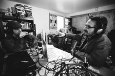 the podcasts from Marc's garage...grass roots much?