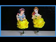 Decoración de la Bella y Blanca Nieves - YouTube