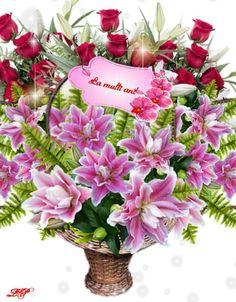 Happy Birthday Wishes, Floral Wreath, Wreaths, Home, Happy Bday Wishes, Floral Crown, Door Wreaths, Deco Mesh Wreaths, Floral Arrangements