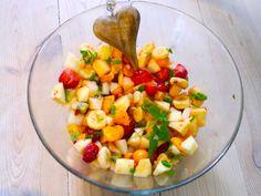 Fruchtsalat zum Muttertag
