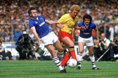 Everton FA Cup Winner Peter Reid