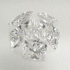 0.11 ct H Color SI1 Clarity 2.88x2.42x1.89 mm Princess Cut Natural Loose Diamond