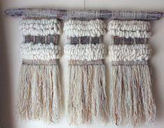 Murales — Marianne Werkmeister Weaving Art, Tapestry Weaving, Loom Weaving, Hand Weaving, Creative Textiles, Wool Art, How To Make Diy, Woven Wall Hanging, Yarn Needle