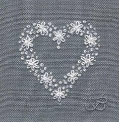 Embroidered pictures by Jo Butcher make lovely wedding gifts