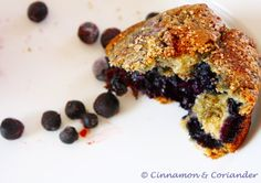 Brown Sugar Streusel Blueberry Muffin