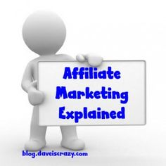 With mixed success, affiliate marketing is perhaps the most popular method of making money online.You do this, in general, by promoting the products or services of other businesses. You do this *successfully* by promoting the right products and services in the right way...