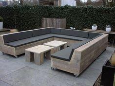 loungeset steigerhout - Google zoeken