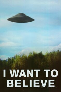 The X-Files I Want To Believe TV Poster Print Affiches sur AllPosters.fr