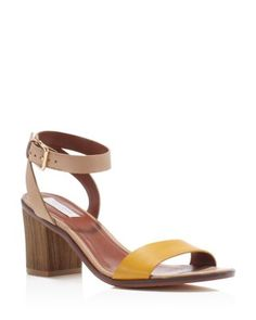 Cole Haan Cambon Mid Heel Ankle Strap Sandals | bloomingdales.com