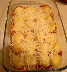 Lazy man s lasagna easy recipe