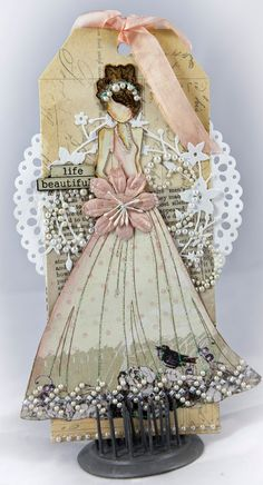 Selection of My Best Work using Prima papers and products.