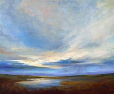 oil painting | Heavenly Light VI | Ugallery Online Art Gallery