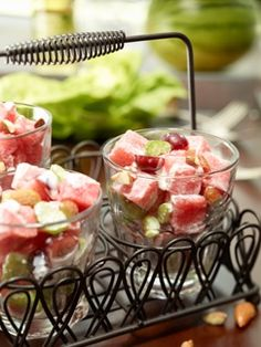 Watermelon Waldorf Salad