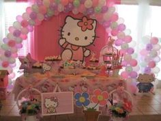 Hello kitty birthday party ideas - 2