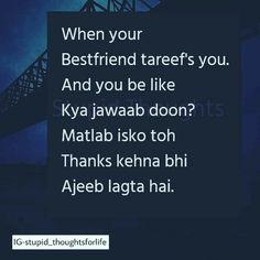 277 Best Friendship Quotes Images In 2019 Hindi Quotes Besties