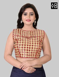 Pink Fancy Blouses Textile Mall Textile Now at TextileMall. Blouse Batik, Lehenga Blouse, Red Fashion, Indian Fashion, Style Fashion, Readymade Blouses Online, Mirror Work Blouse, Fancy Suit, Indian Party Wear