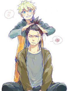 better than Sasuke's realationship with naruto – Naruto & Shikamaru, awesome. better than Sasuke's realationship with naruto – Naruto Shippuden Sasuke, Anime Naruto, Naruto Comic, Naruto Tumblr, Naruto And Shikamaru, Naruto Boys, Naruto Fan Art, Naruto Cute, Gaara