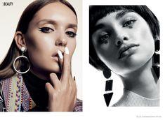 Elle Canada Spotlights 60s Makeup Trends for My Generation, makeup artist Sabrina Rinaldi