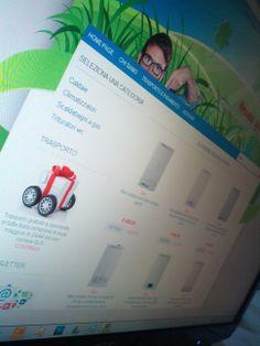 Design pulito e minimalista per il nuovo store di caldaie a condensazione http://www.klimaterm.it/Caldaie/Condensazione/
