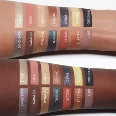 NEW Prism Palette Swatches Anastasia Beverly Hills