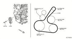 2010 Nissan Versa Hatchback OEM Parts - Nissan USA eStore Nissan Versa, Oem Parts, Pulley, Performance Parts, Accessories, Usa, Cable Machine, Snail, U.s. States