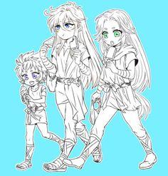 Kiki, Shaka & Mu