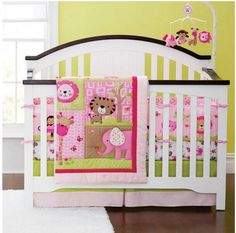Obedient Ups Free Kids Baby Bedding Sets Baby Girl Bedding Crib Bumper Sets Comforter Cot Cuna Quilt Sheet Bumper Included Attractive Appearance Bedding Sets Baby Bedding
