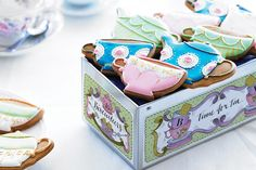 win a biscuit tin filled with tea party biscuits with Party Pieces