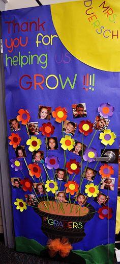 Teacher+Appreciation+Week+Door+Decorations | Teacher Appreciation Week: Door Decorations; another cute grow presentation
