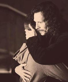 Harry Potter and Sirius Black. So much love...                                                                                                                                                                                 Más