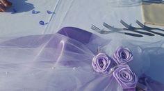 rose con nastro di raso realizzate Elisabetta Morello