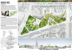 Veja a seguir o projeto da equipe liderada pelo escritórioDiller Scofidio + Renfro, vencedor do Concurso Internacional Aberdeen City Garden Project.