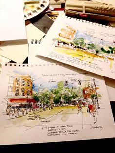 Urban sketching turorial