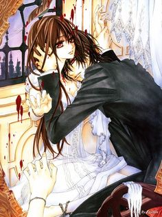 Matsuri Hino, Vampire Knight, Hino Matsuri Illustrations Vampire Knight, Yuuki Cross, Kaname Kuran