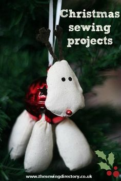 Christmas sewing projects and tutorials